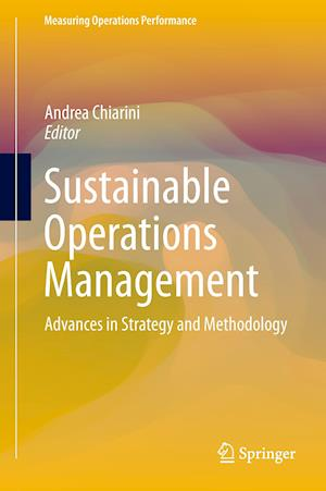 Sustainable Operations Management af Andrea Chiarini