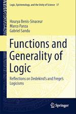 Functions and Generality of Logic af Marco Panza, Gabriel Sandu, Hourya Benis-Sinaceur