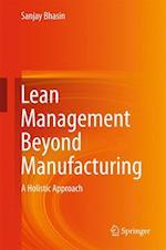 Lean Management Beyond Manufacturing af Sanjay Bhasin