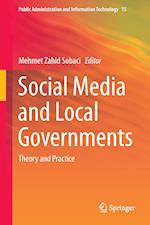 Social Media and Local Governments af Mehmet Zahid Sobaci