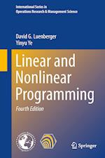 Linear and Nonlinear Programming af David G. Luenberger