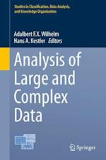 Analysis of Large and Complex Data (Studies in Classification Data Analysis and Knowledge Orga)