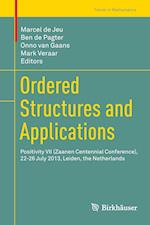 Ordered Structures and Applications (Trends in Mathematics)