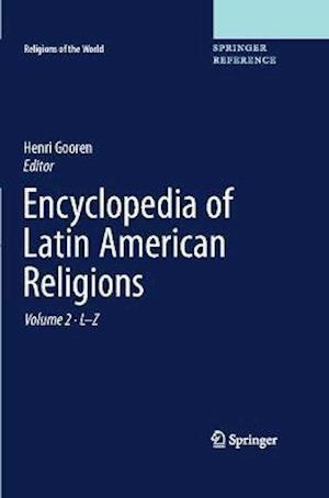 Bog, hardback Encyclopedia of Latin American Religions