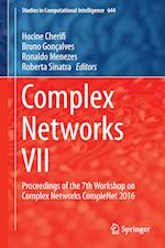 Complex Networks VII af Hocine Cherifi