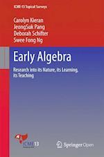 Early Algebra (ICME 13 Topical Surveys)