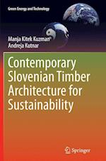 Contemporary Slovenian Timber Architecture for Sustainability (Green Energy and Technology)
