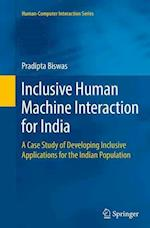 Inclusive Human Machine Interaction for India (Human/Computer Interaction)