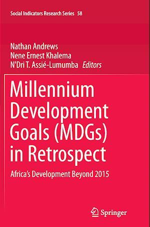 Bog, paperback Millennium Development Goals (Mdgs) in Retrospect