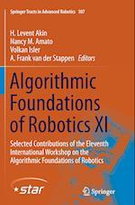 Algorithmic Foundations of Robotics XI (Springer Tracts in Advanced Robotics Hardcover, nr. 107)