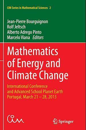 Bog, paperback Mathematics of Energy and Climate Change af Jean-Pierre Bourguignon