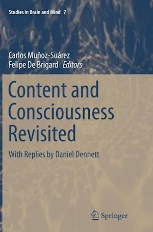 Bog, paperback Content and Consciousness Revisited