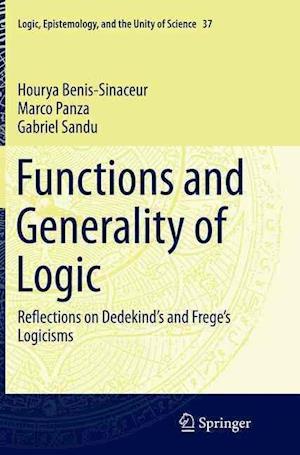 Bog, paperback Functions and Generality of Logic af Marco Panza, Gabriel Sandu, Hourya Benis-Sinaceur