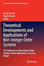 Theoretical Developments and Applications of Non-Integer Order Systems (Lecture Notes in Electrical Engineering, nr. 357)