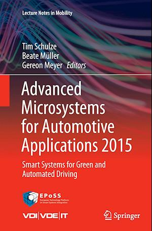 Bog, paperback Advanced Microsystems for Automotive Applications 2015 af Tim Schulze