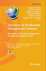 Advances in Production Management Systems (Ifip Advances in Information and Communication Technology, nr. 460)