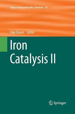 Bog, paperback Iron Catalysis af Eike Bauer