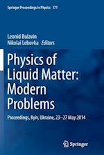 Physics of Liquid Matter (Springer Proceedings in Physics Hardcover, nr. 1049)