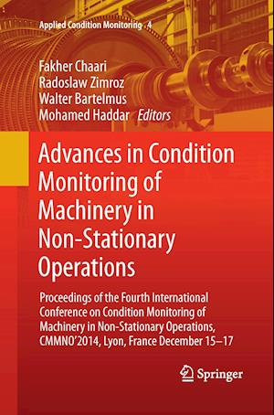 Bog, paperback Advances in Condition Monitoring of Machinery in Non-Stationary Operations