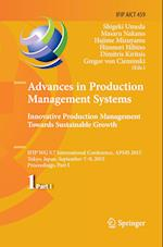 Advances in Production Management Systems (Ifip Advances in Information and Communication Technology, nr. 459)