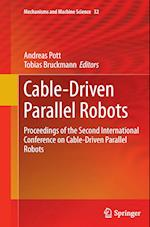 Cable-Driven Parallel Robots (Mechanisms and Machine Science, nr. 32)