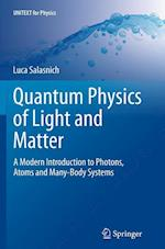Quantum Physics of Light and Matter (Unitext for Physics)