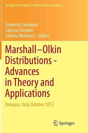 Bog, paperback Marshall Olkin Distributions - Advances in Theory and Applications af Umberto Cherubini
