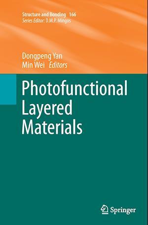 Bog, paperback Photofunctional Layered Materials af Dongpeng Yan