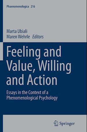 Bog, paperback Feeling and Value, Willing and Action af Marta Ubiali