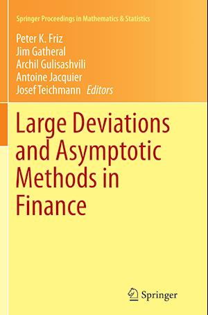 Bog, paperback Large Deviations and Asymptotic Methods in Finance