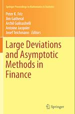 Large Deviations and Asymptotic Methods in Finance (Springer Proceedings in Mathematics & Statistics, nr. 110)