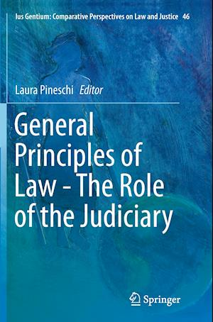 Bog, paperback General Principles of Law - The Role of the Judiciary af Laura Pineschi