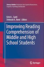 Improving Reading Comprehension of Middle and High School Students (Literacy Studies, nr. 10)