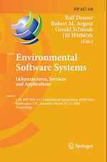 Environmental Software Systems. Infrastructures, Services and Applications (Ifip Advances in Information and Communication Technology, nr. 448)