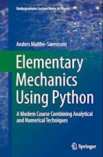 Elementary Mechanics Using Python (Undergraduate Lecture Notes in Physics)
