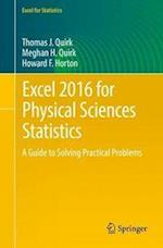 Excel 2016 for Physical Sciences Statistics (Excel for Statistics)
