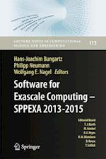 Software for Exascale Computing - SPPEXA 2013-2015 (Lecture Notes in Computational Science and Engineering, nr. 113)