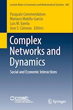 Complex Networks and Dynamics (Lecture Notes in Economic and Mathematical Systems, nr. 683)