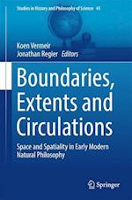 Boundaries, Extents and Circulations (Studies in History And Philosophy of Science, nr. 999)