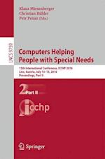 Computers Helping People with Special Needs (Lecture Notes in Computer Science, nr. 9759)