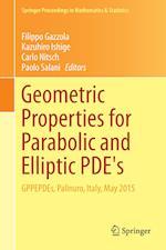 Geometric Properties for Parabolic and Elliptic Pde's (Springer Proceedings in Mathematics & Statistics, nr. 176)