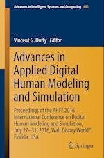 Advances in Applied Digital Human Modeling and Simulation af Vincent Duffy