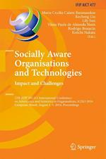 Socially Aware Organisations and Technologies. Impact and Challenges (Ifip Advances in Information and Communication Technology, nr. 477)