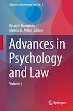 Advances in Psychology and Law (Advances in Psychology and Law, nr. 2)