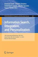 Information Search, Integration, and Personalization (Communications in Computer and Information Science, nr. 622)