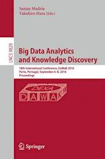 Big Data Analytics and Knowledge Discovery (Lecture Notes in Computer Science, nr. 9829)