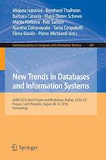 New Trends in Databases and Information Systems (Communications in Computer and Information Science, nr. 637)