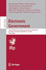 Electronic Government (Lecture Notes in Computer Science, nr. 9820)