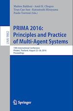Prima 2016: Princiles and Practice of Multi-Agent Systems (Lecture Notes in Computer Science, nr. 9862)