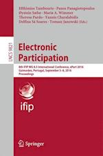 Electronic Participation (Lecture Notes in Computer Science, nr. 9821)